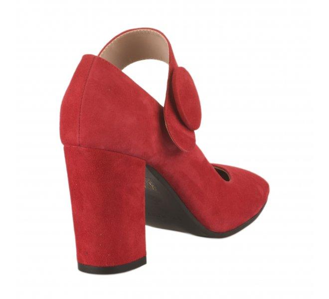 Escarpins fille - STYME - Rouge