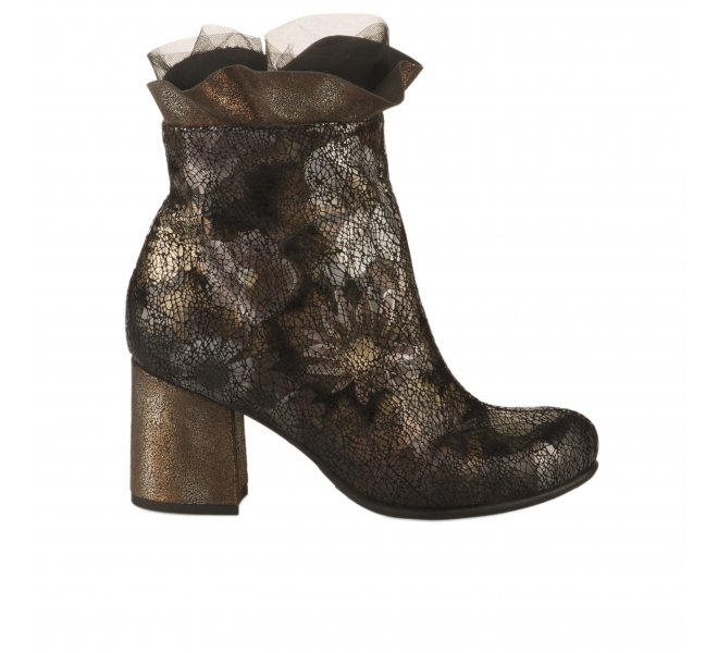 Boots fille - PAPUCEI - Dore mordore