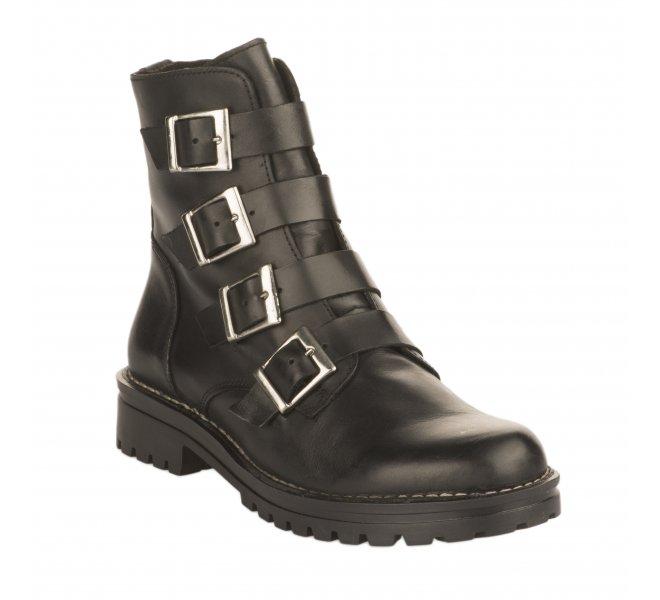 Boots fille - CHACAL - Noir