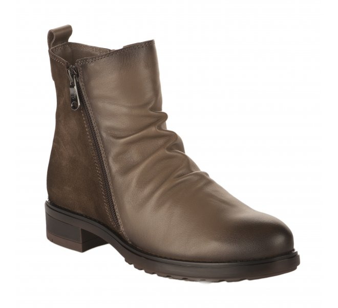 Boots fille - PAULA URBAN - Taupe
