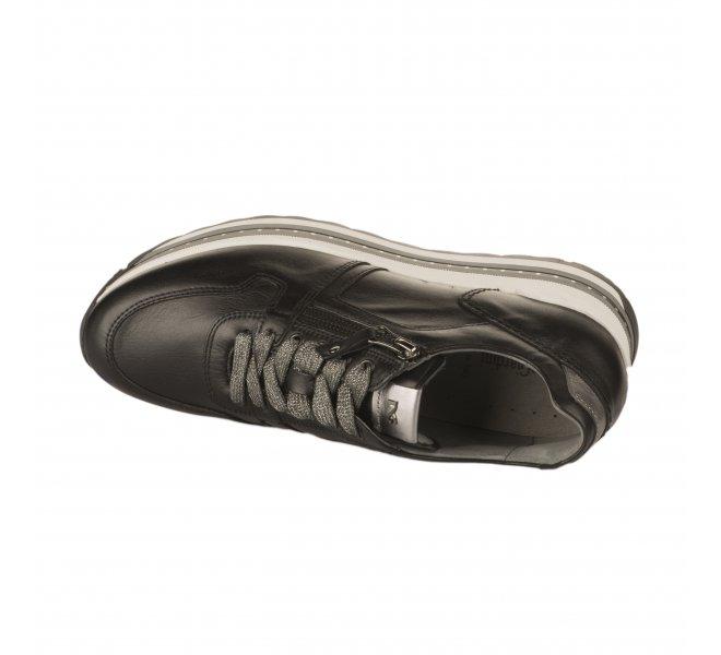 Baskets mode fille - NEROGIARDINI - Noir