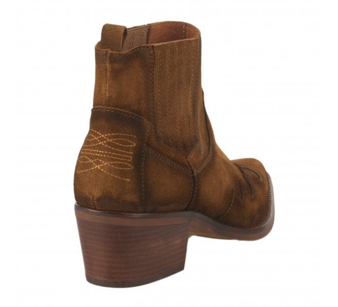 Boots fille - JHONNY BULLS - Naturel
