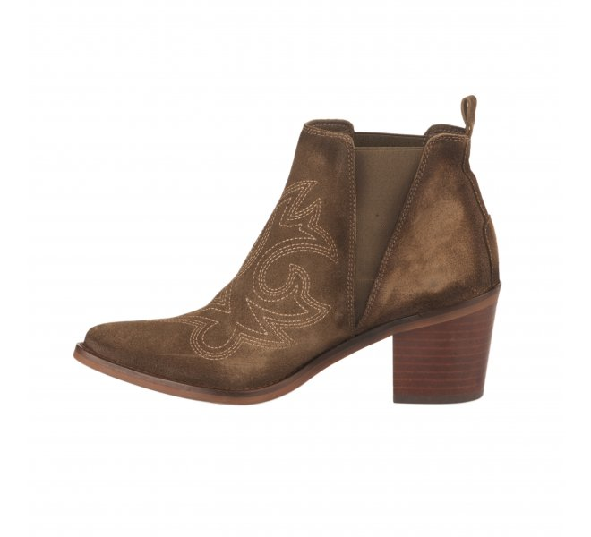 Boots fille - JHONNY BULLS - Taupe