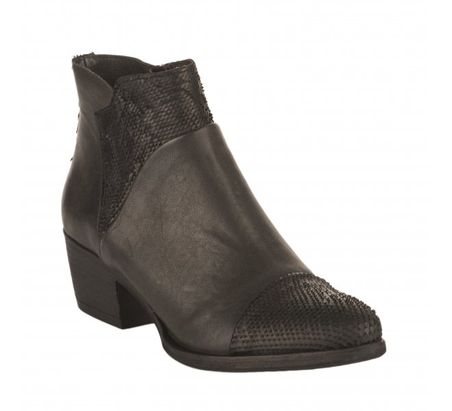 Boots fille - MIGLIO - Gris fonce
