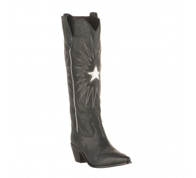 Boots Santiag fille - MIGLIO - Gris bleu