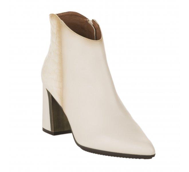 Boots fille - HISPANITAS - Blanc casse