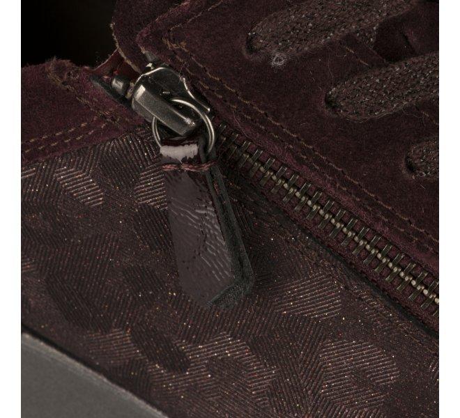 Baskets mode fille - GABOR - Rouge bordeaux