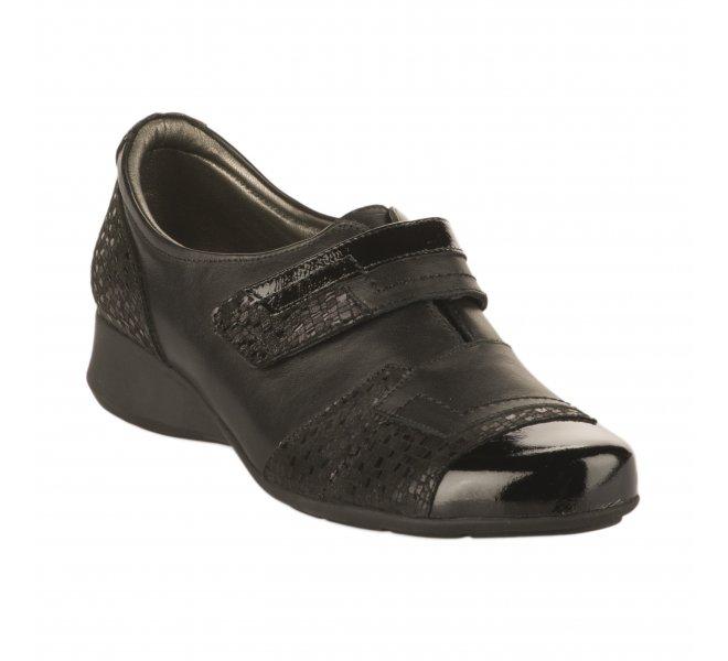 Chaussures de confort fille - PEDI GIRL - Noir