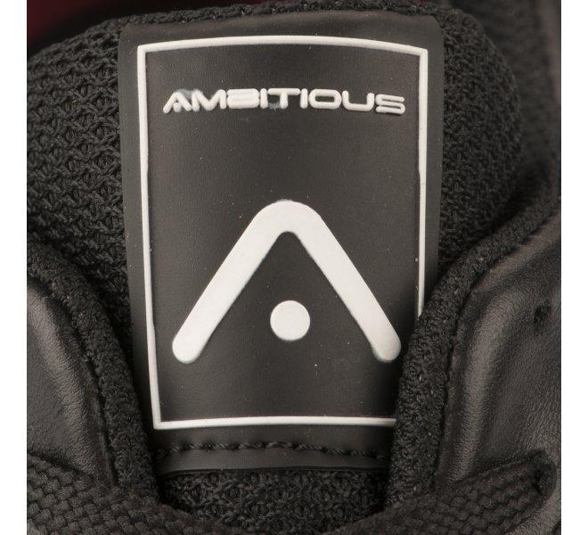 Baskets garçon - AMBITIOUS - Noir
