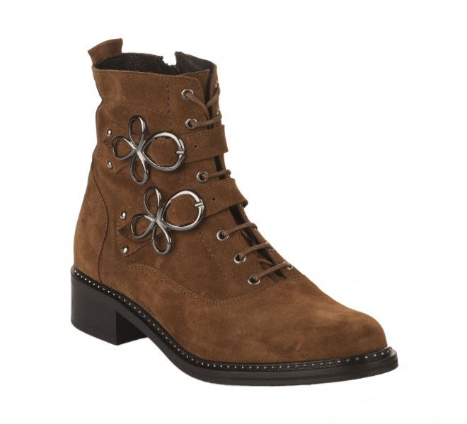 Bottines fille - REGARD - Naturel