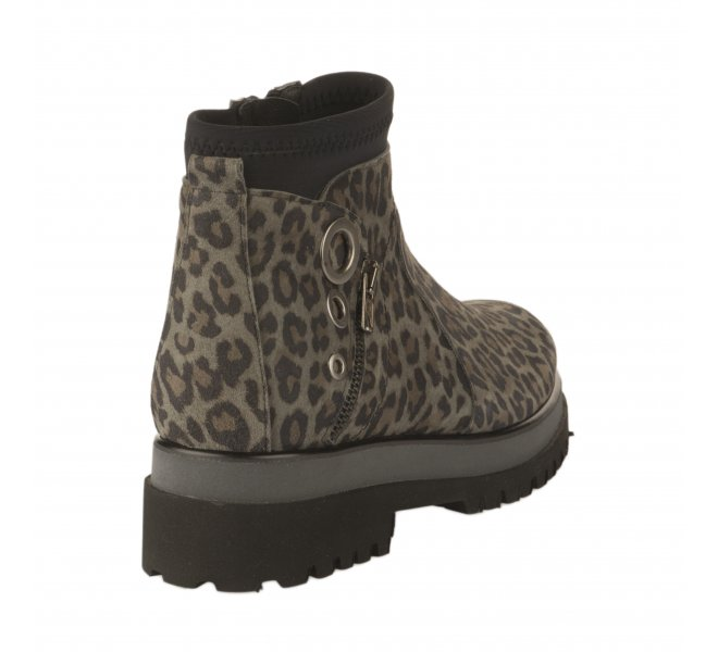 Boots fille - REGARD - Leopard