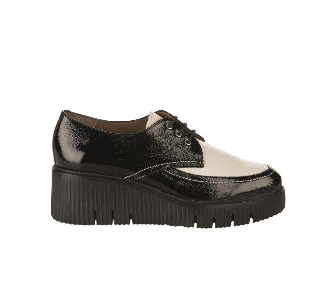 Chaussures à lacets fille - WONDERS - Bicolore