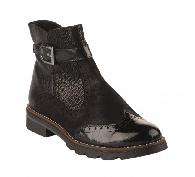 Boots fille - GEO REINO - Noir
