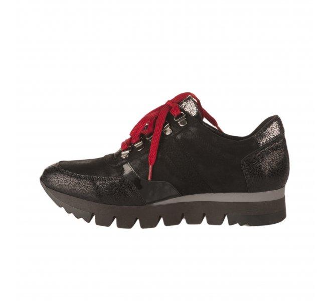 Baskets mode fille - GEO REINO - Noir