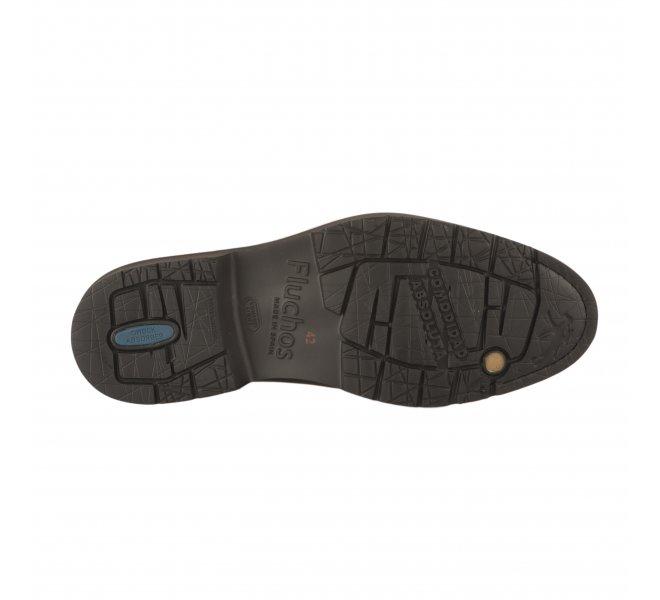 Chaussures à lacets garçon - FLUCHOS - Noir
