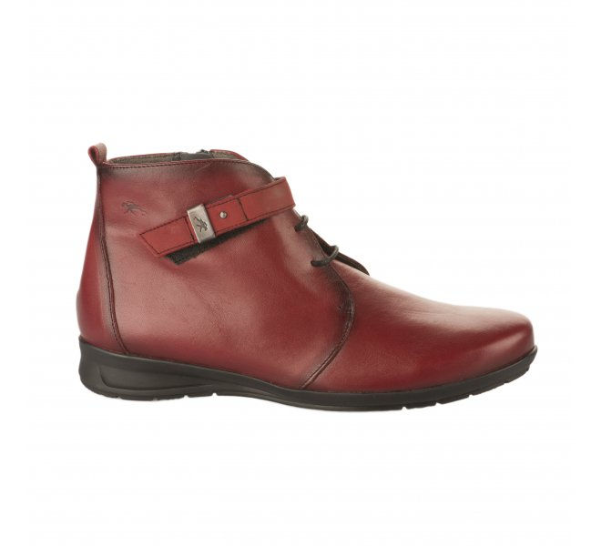Bottines fille - FLUCHOS - Rouge