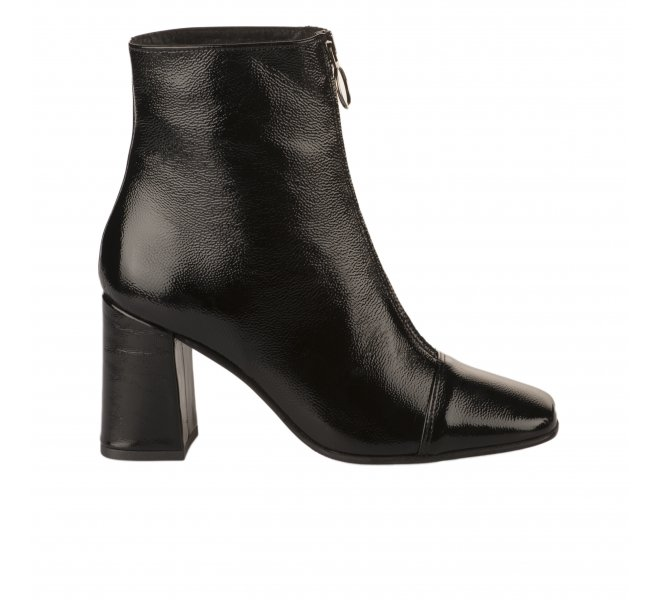 Boots fille - MIGLIO - Noir verni