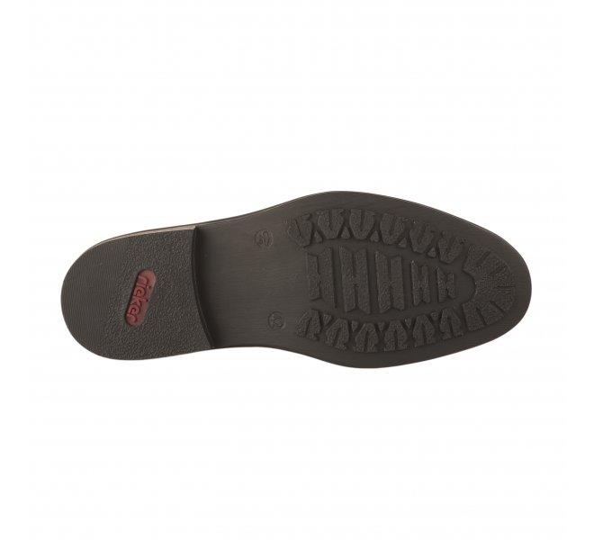 Chaussures à lacets garçon - RIEKER - Naturel