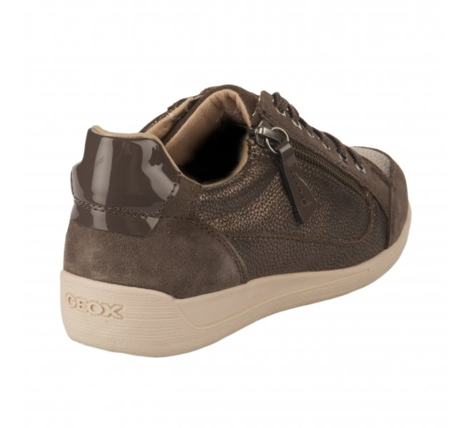 Baskets mode fille - GEOX - Gris