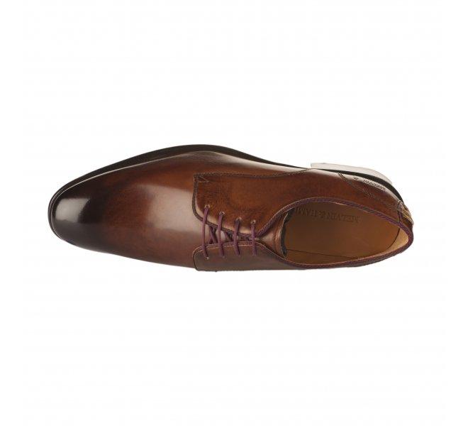 Chaussures à lacets garçon - MELVIN & HALMILTON - Marron
