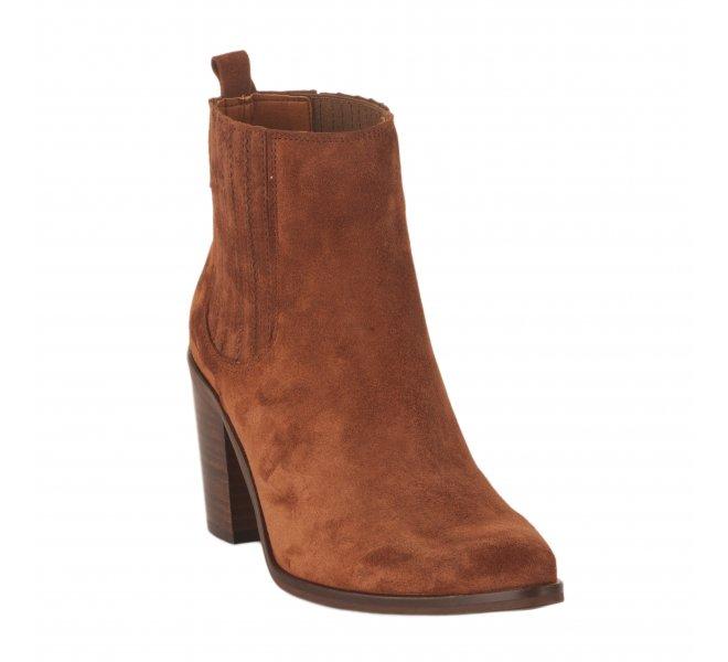 Boots fille - HIJOS DE PEDRO ARROYO - Rouille