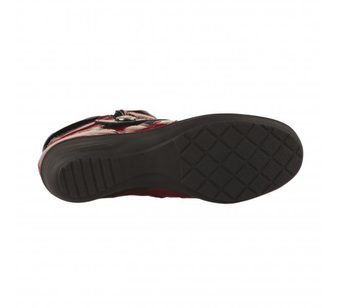 Chaussures de confort fille - GEO REINO - Rouge