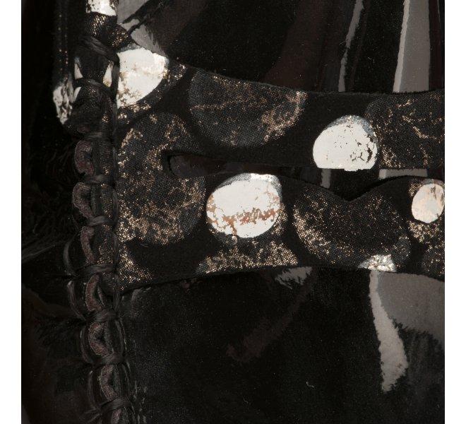 Mocassins fille - METAYER J - Noir