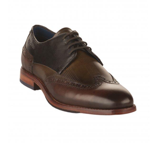 Chaussures à lacets garçon - DANIEL HECHTER - Marron