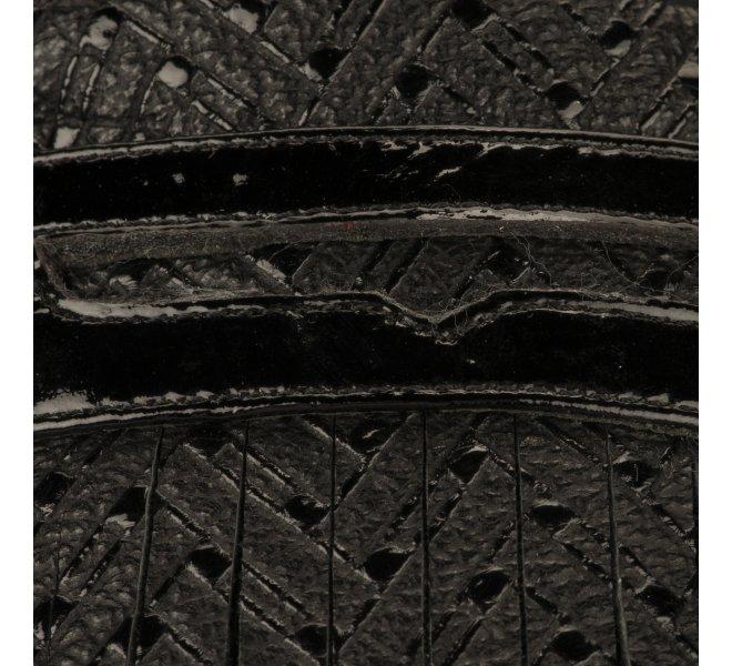 Mocassins fille - INéA - Noir verni