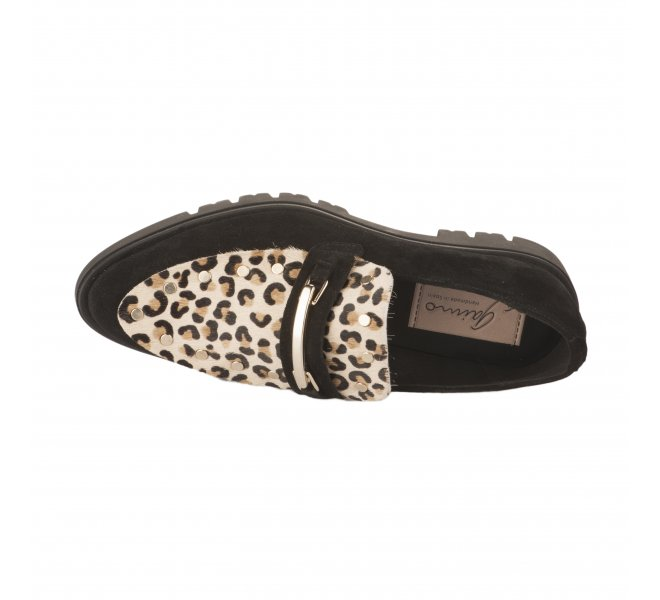 Mocassins fille - GAIMO - Leopard