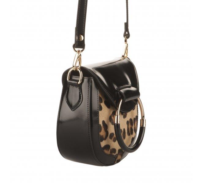 Sac à main fille - STYME - Leopard
