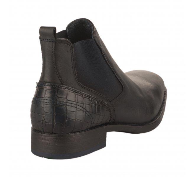 Boots garçon - FIRST COLLECTIVE - Bleu marine