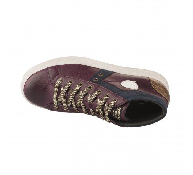 Baskets mode fille - PATAUGAS - Violet prune