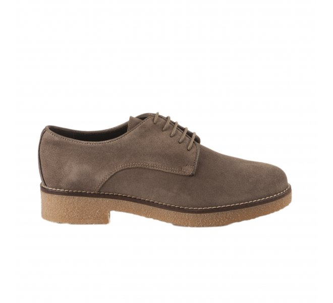 Chaussures à lacets fille - ALFA - Taupe