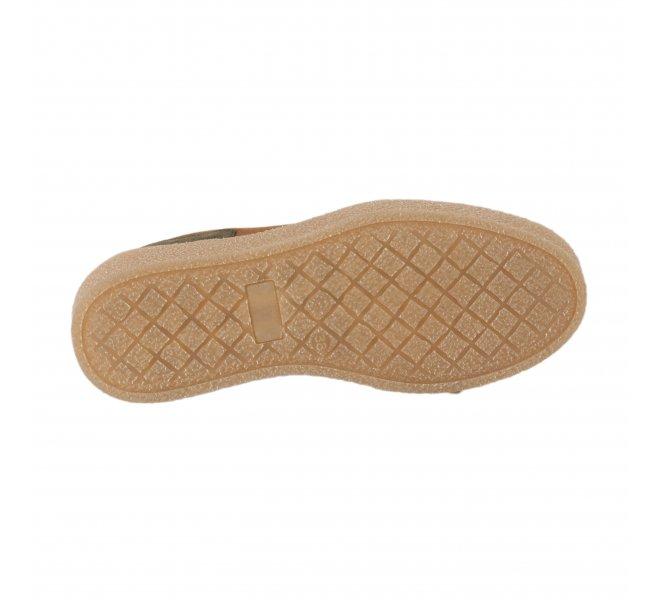 Baskets mode fille - ALFA - Marron cognac