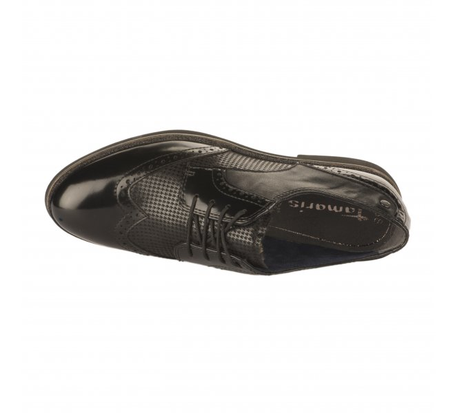 Chaussures à lacets fille - TAMARIS - Noir