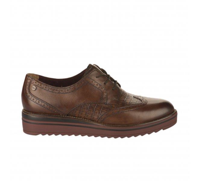 Chaussures à lacets fille - TAMARIS - Marron