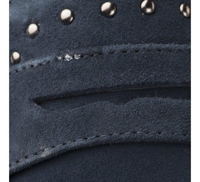 Mocassins fille - CARMELA - Bleu marine