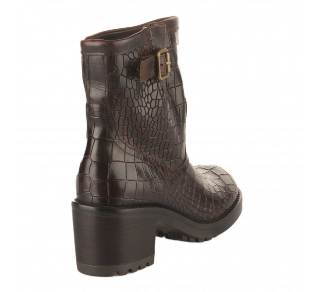 Boots fille - FELMINI - Marron fonce