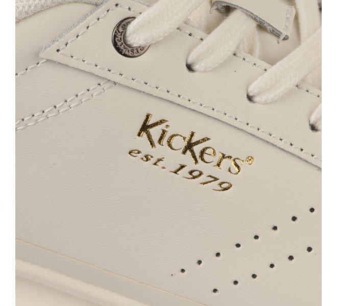 Baskets garçon - KICKERS - Blanc