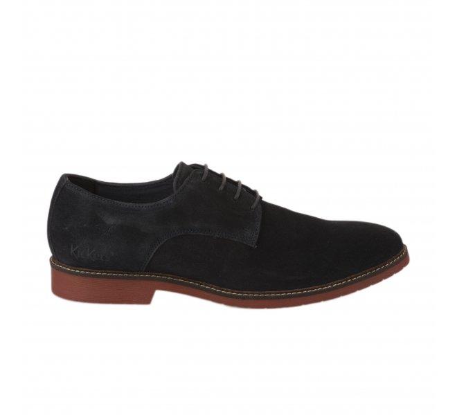 Chaussures à lacets garçon - KICKERS - Bleu marine