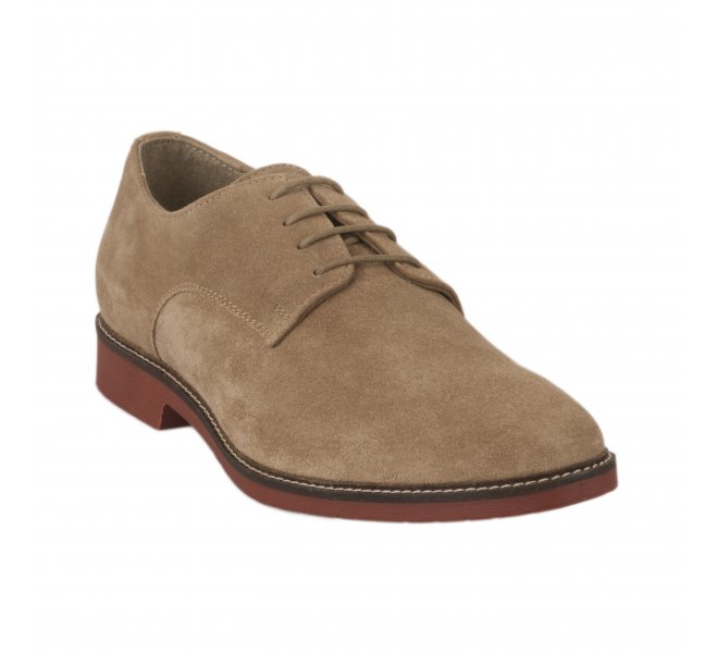 Chaussures à lacets garçon - KICKERS - Beige