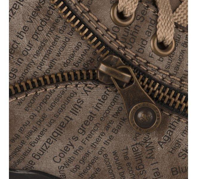 Boots fille - RIEKER - Camel