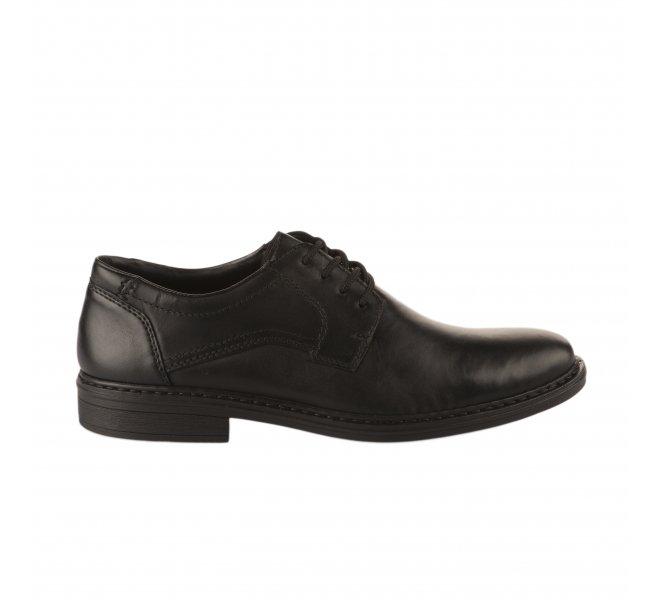 Chaussures à lacets garçon - RIEKER - Noir