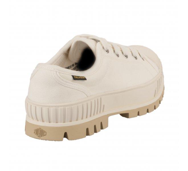 Baskets fille - PALLADIUM - Blanc casse