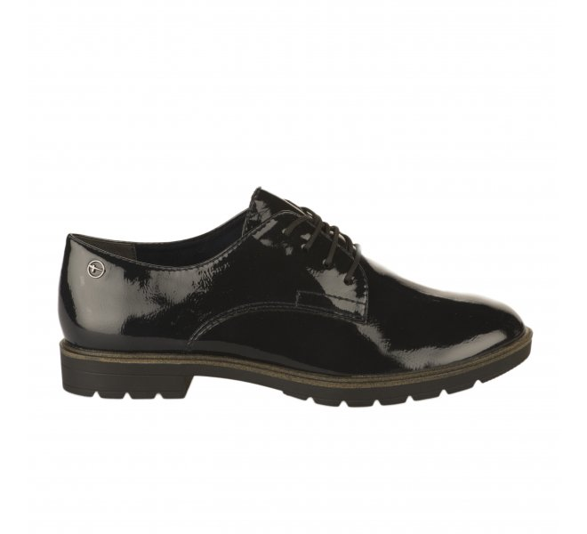 Chaussures à lacets fille - TAMARIS - Bleu marine