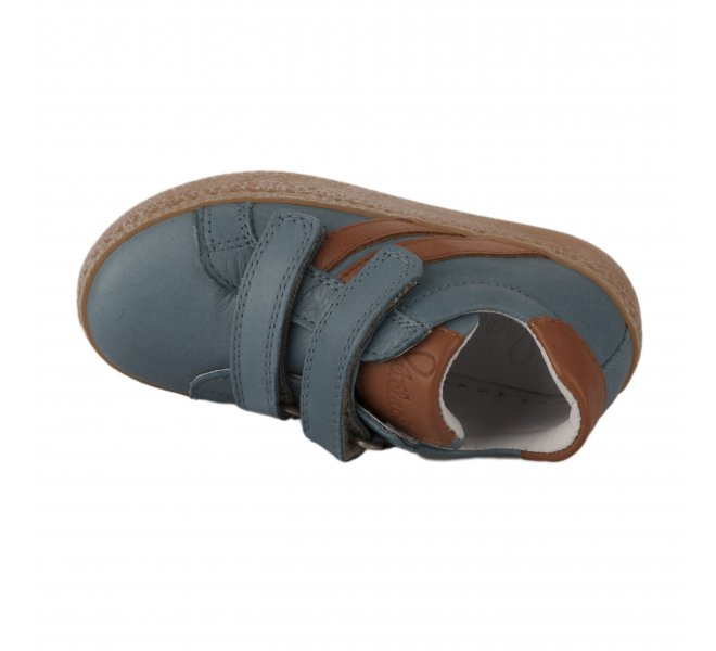 Baskets garçon - FéTéLACé - Bleu gris