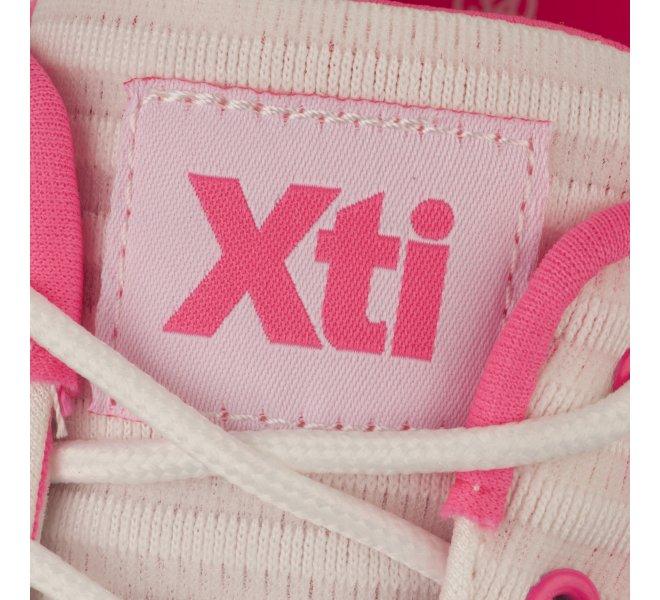 Baskets fille - XTI - Rose fushia