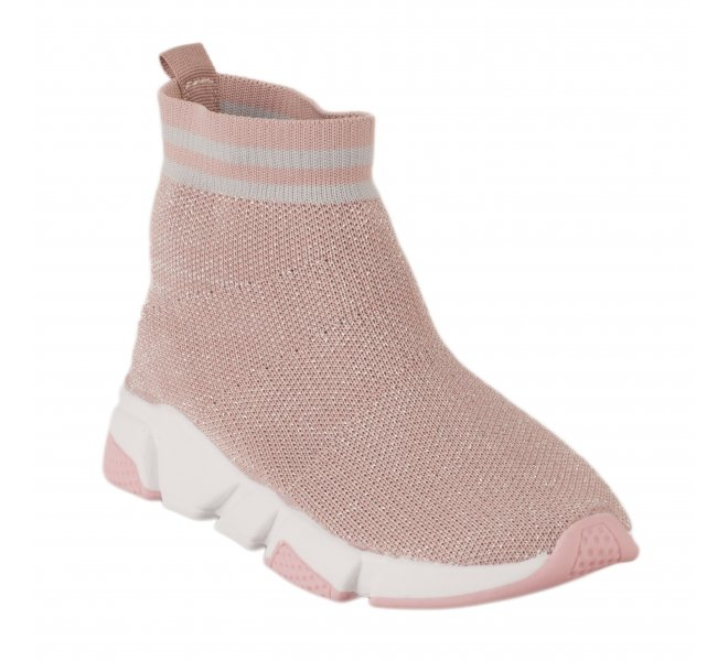Baskets fille - XTI - Rose poudre