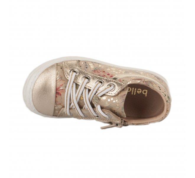 Baskets fille - BELLAMY - Beige dore